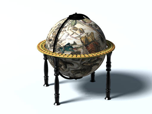 Globe (POV-Ray)