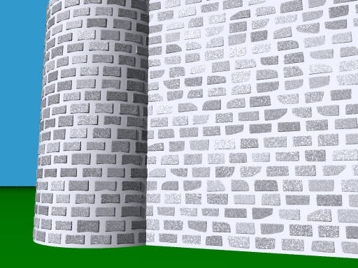 Brick wall generator (POV-Ray)