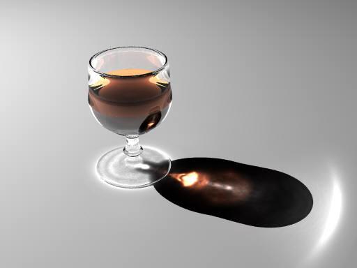 Glass (POV-Ray)