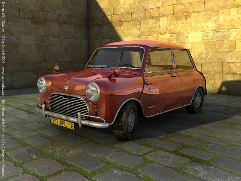 Demo Mini Cooper (Cinema 4D)