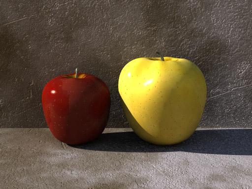 Apple (POV-Ray)